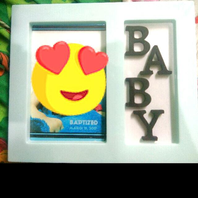 Baby Picture Frame (Blue / Pink)