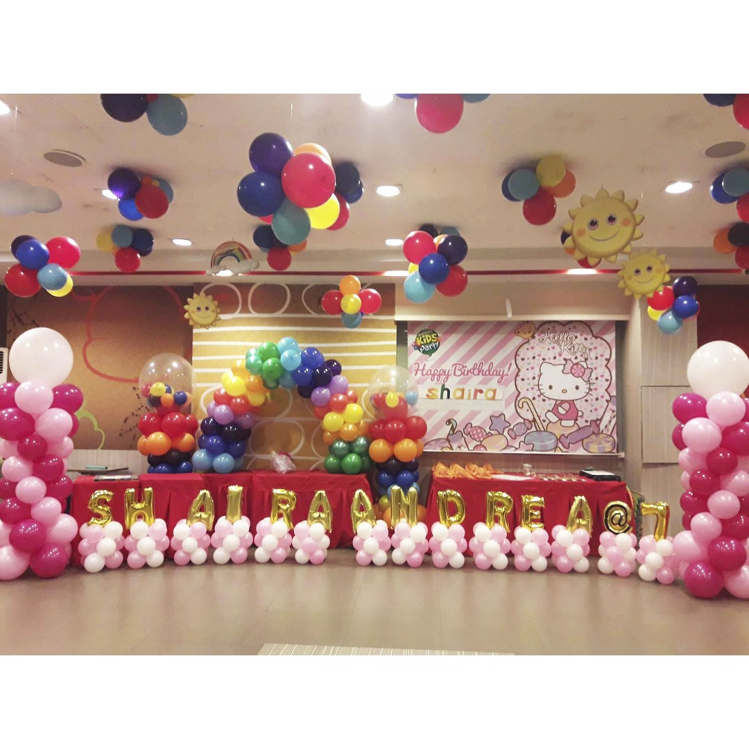 Balloon Party Decoration, Standees and Backdrops