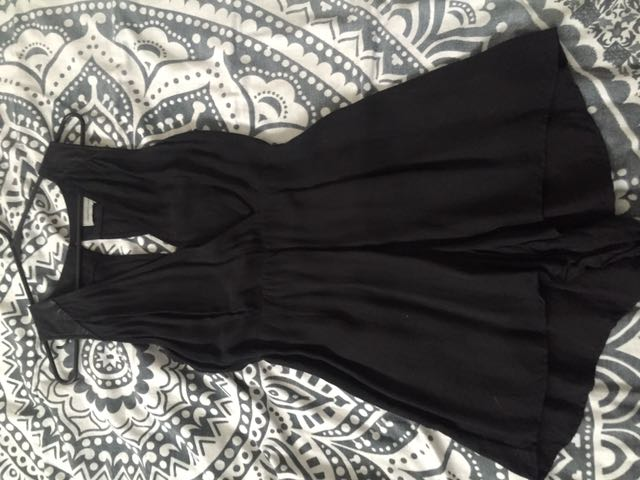 Black Evening Cut Out Dress