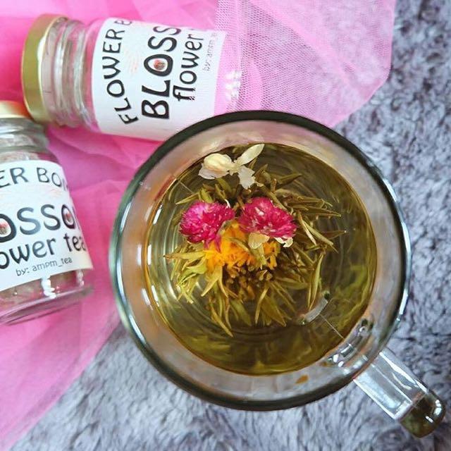 Blooming Tea Flower - Greentea