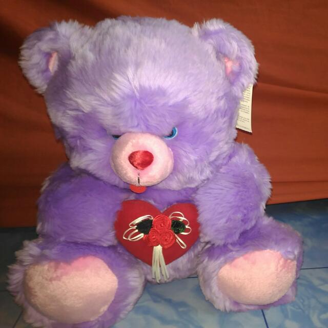 Blue Magic Bear Stuff Toy