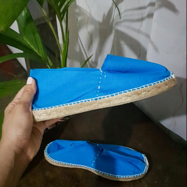 NEW PRICE! Blue Original Espadrilles (From Spain)
