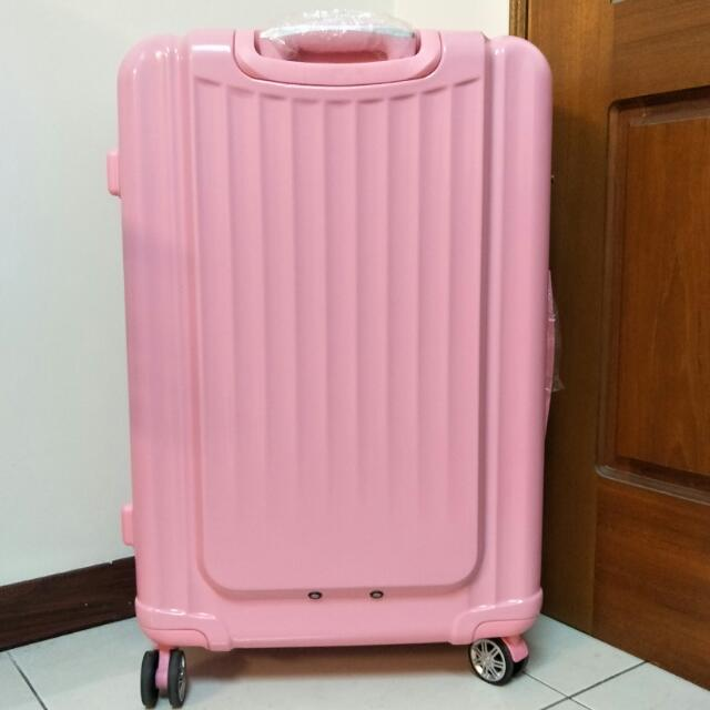 Bogazy 29吋 可加大行李箱(粉色)