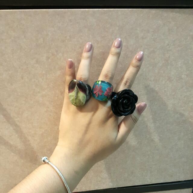 Bundle: cute fancy Rings