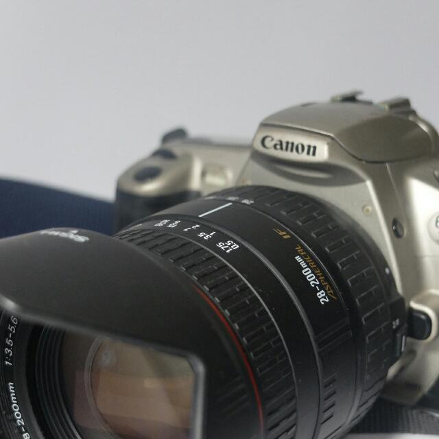 Canon EOS 300 (AWESOME FILM CAM)
