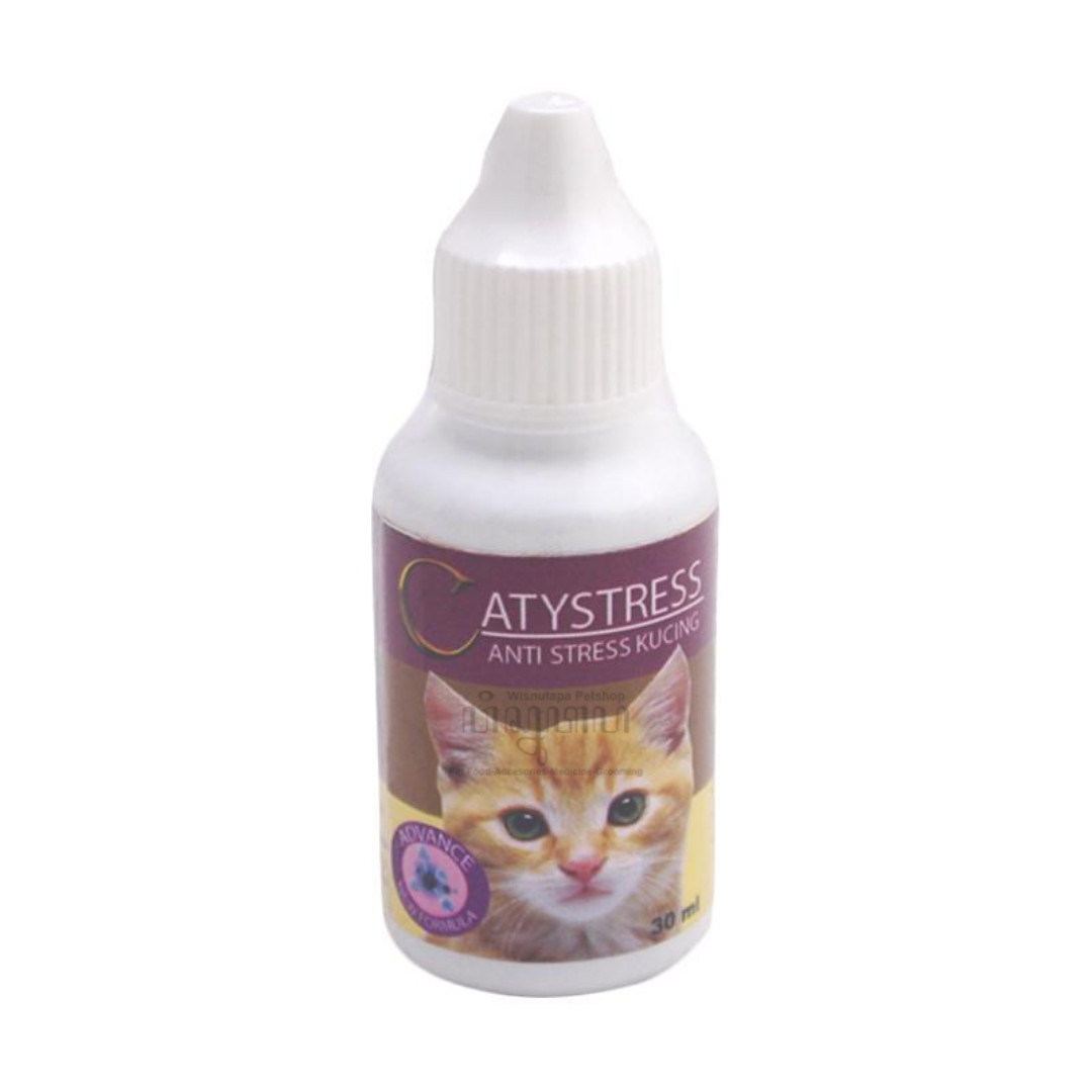 Catystress Cat Obat Anti Stress Kucing Wisnutapa
