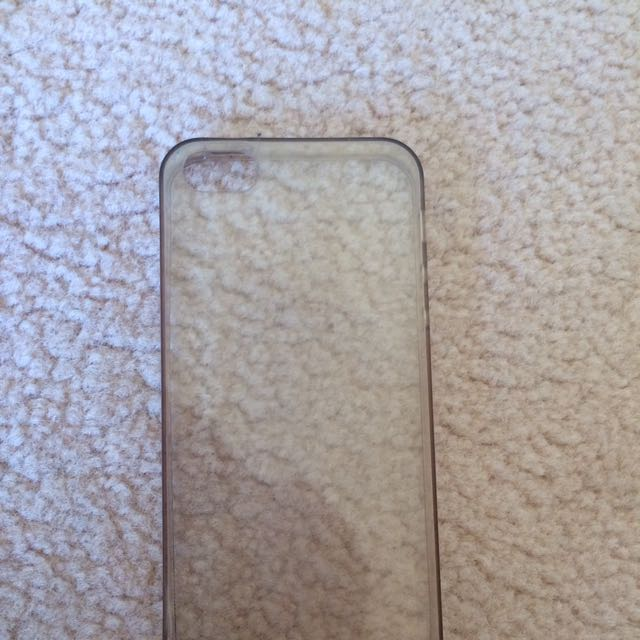 Clear Silicone Case For iPhone 5/5s/SE