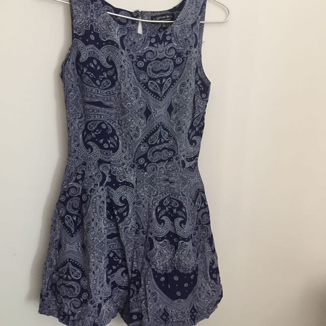 elegant shape beautiful style 60% discount COTTON ON ROMPER, Women's Fashion, Clothes, Rompers ...