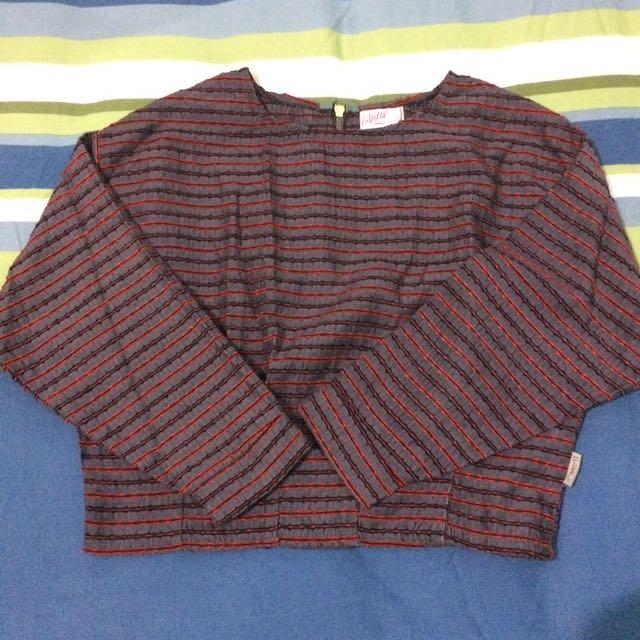 Stripes Crop T-shirt