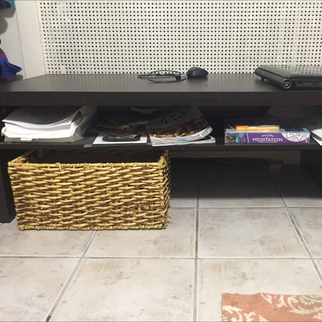 Dark Brown Tv Stand Coffee Table