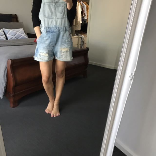 Denim Overalls From H&M