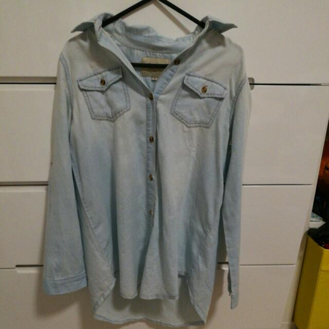 Denim Thin Jacket/blouse