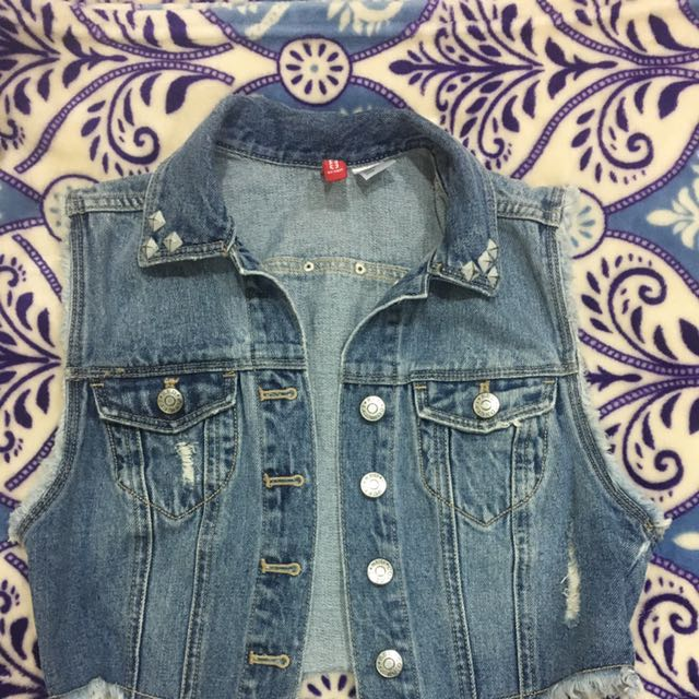 Denim Vest. Goes With Almost Anything. In Good Condition