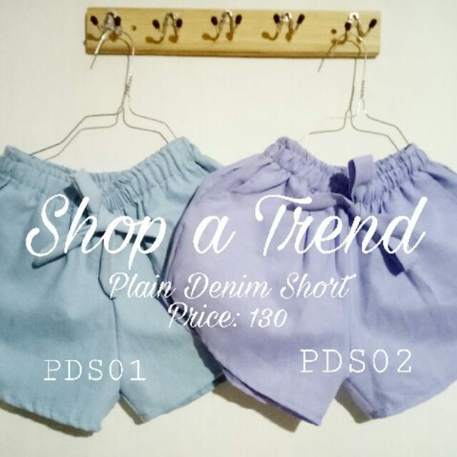 Dolphin Shorts Denim Fabric
