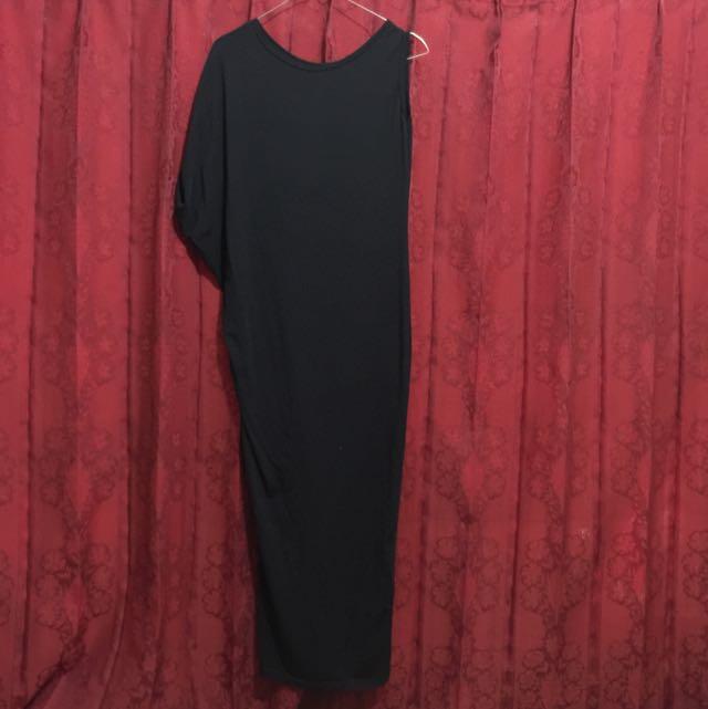 Dress Maxi Hitam