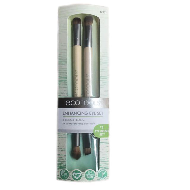 EcoTools Eye Enhancing Duo Set 雙頭眼部刷具組