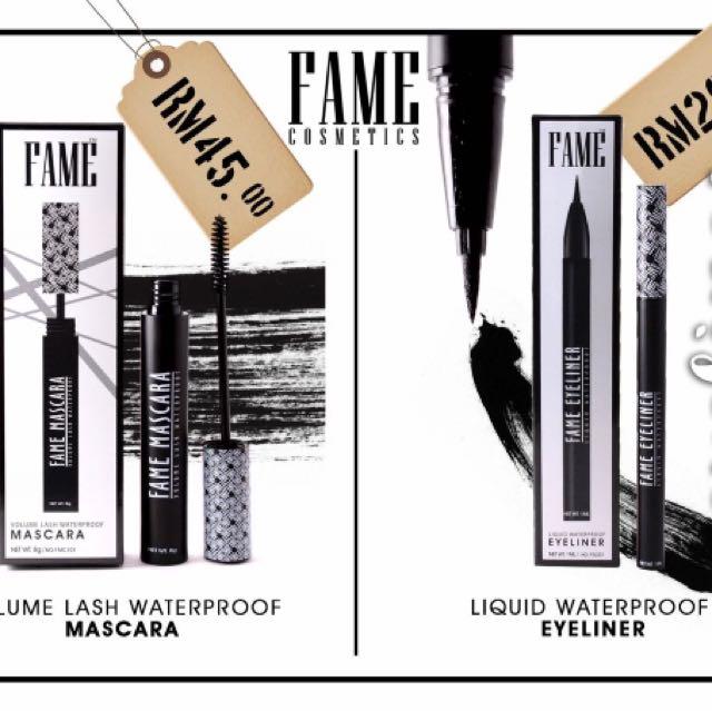 FAME Mascara & Eyeliner