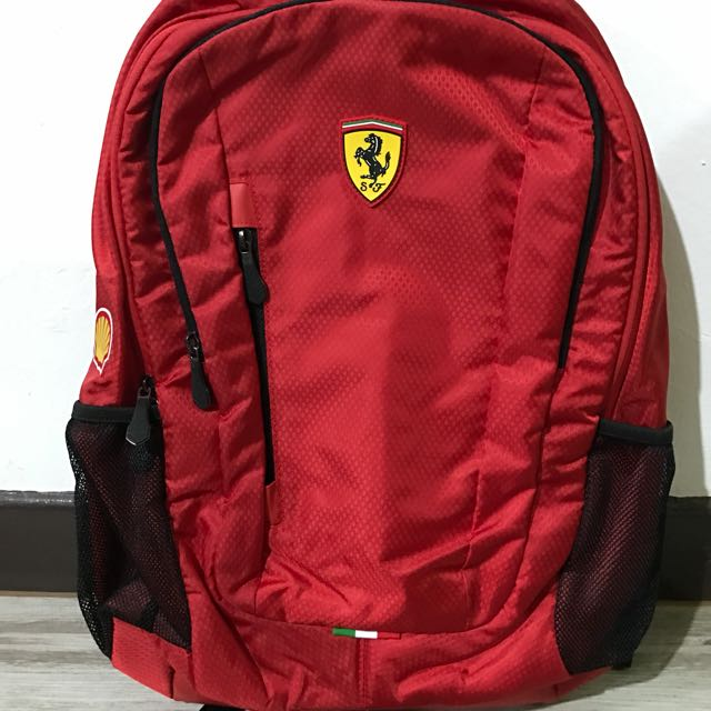 great discount for good reputation great look Ferrari Backpack Shell