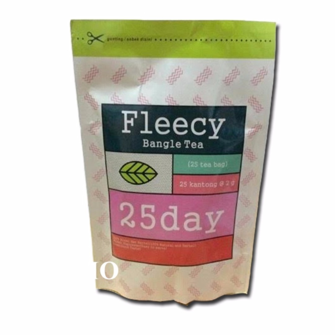 FLEECY Bangle Tea 100% ORIGINAL Slimming Tea Teh Pelangsing