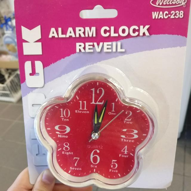 Flower Alarm Clock