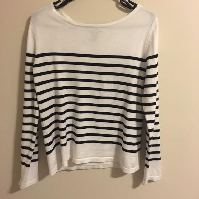 Forever 21 Long Sleeved Striped Shirt