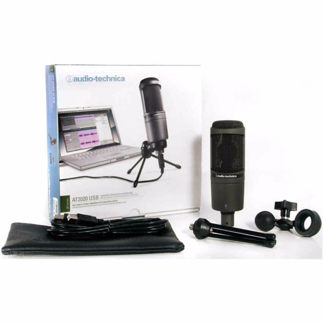 Full SET* Audio Technica Studio USB Direct Singing Karaoke