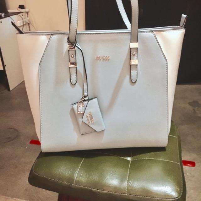 Genuine GUESS tote Bag