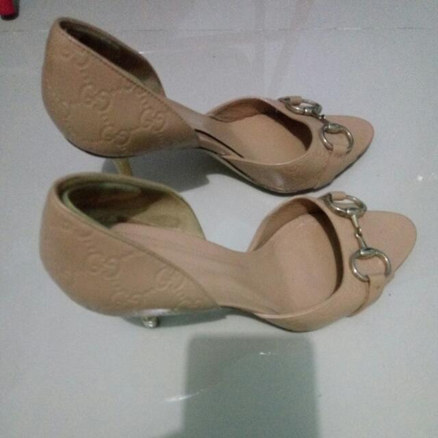 Gucci Shoes Nude No.38,5 C