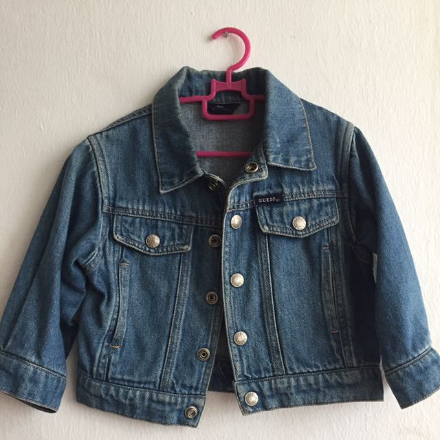 FREE 📮Guess Jeans Jacket for kids