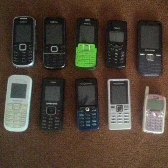 Handphone Jadul Brbagai Tipe Apa Adanya