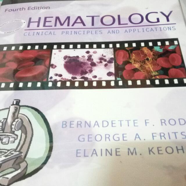 Hematology By RODAK (4TH ED.)