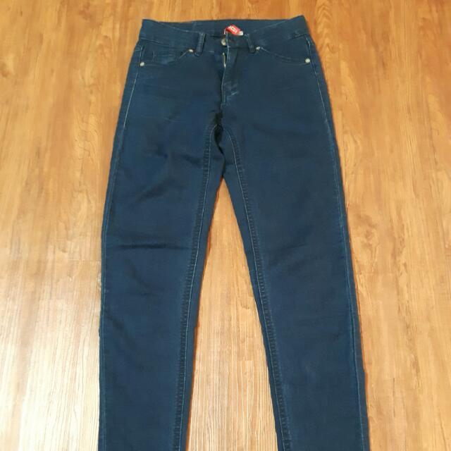 H&M 窄管褲
