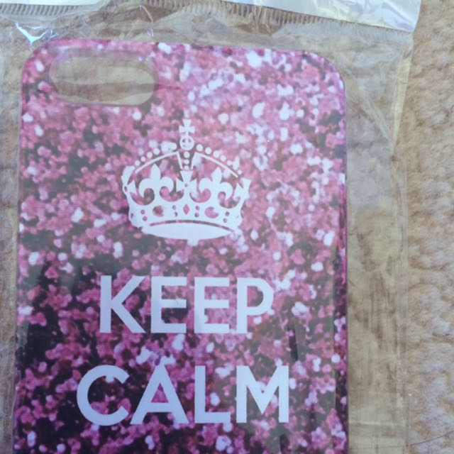 Keep Calm And Sparkle IPhone 5/5s/SE Case