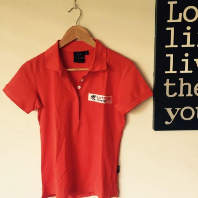 La Trobe University polo shirt