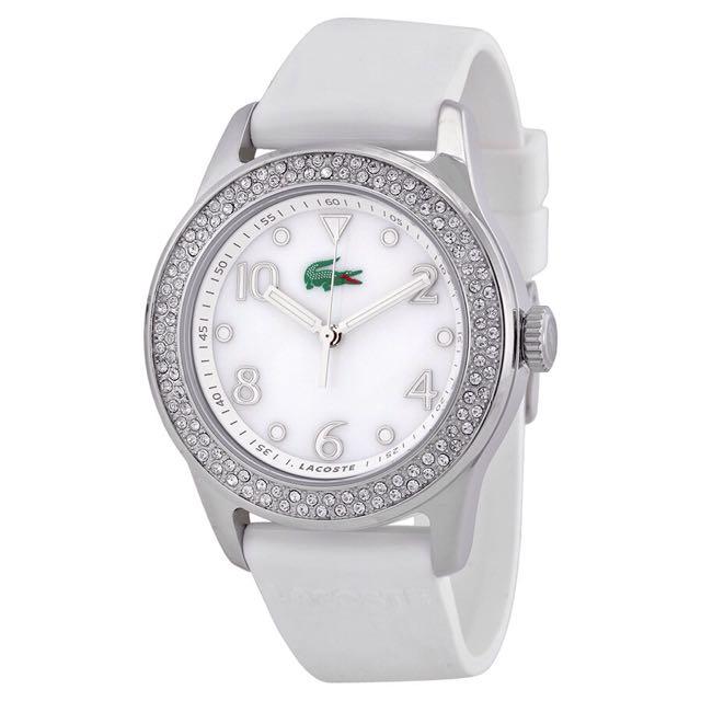 LACOSTE Advantage White Strap Ladies Watch