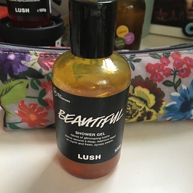 Lush Beautiful shower gel