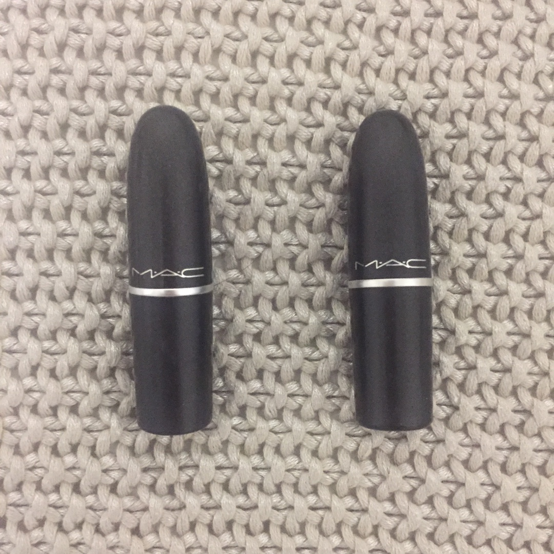 MAC 'Whirl' & 'Up the Amp' Lipsticks - RRP. $36