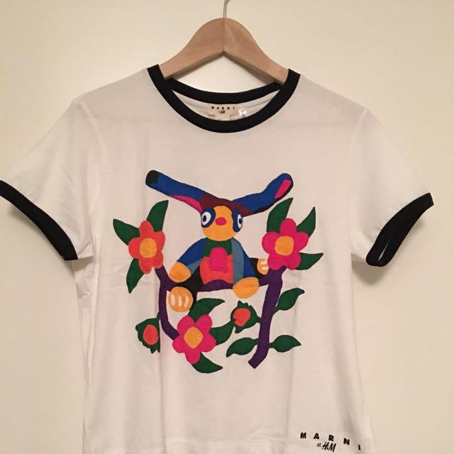 Marni x H&M patchwork t-shirt