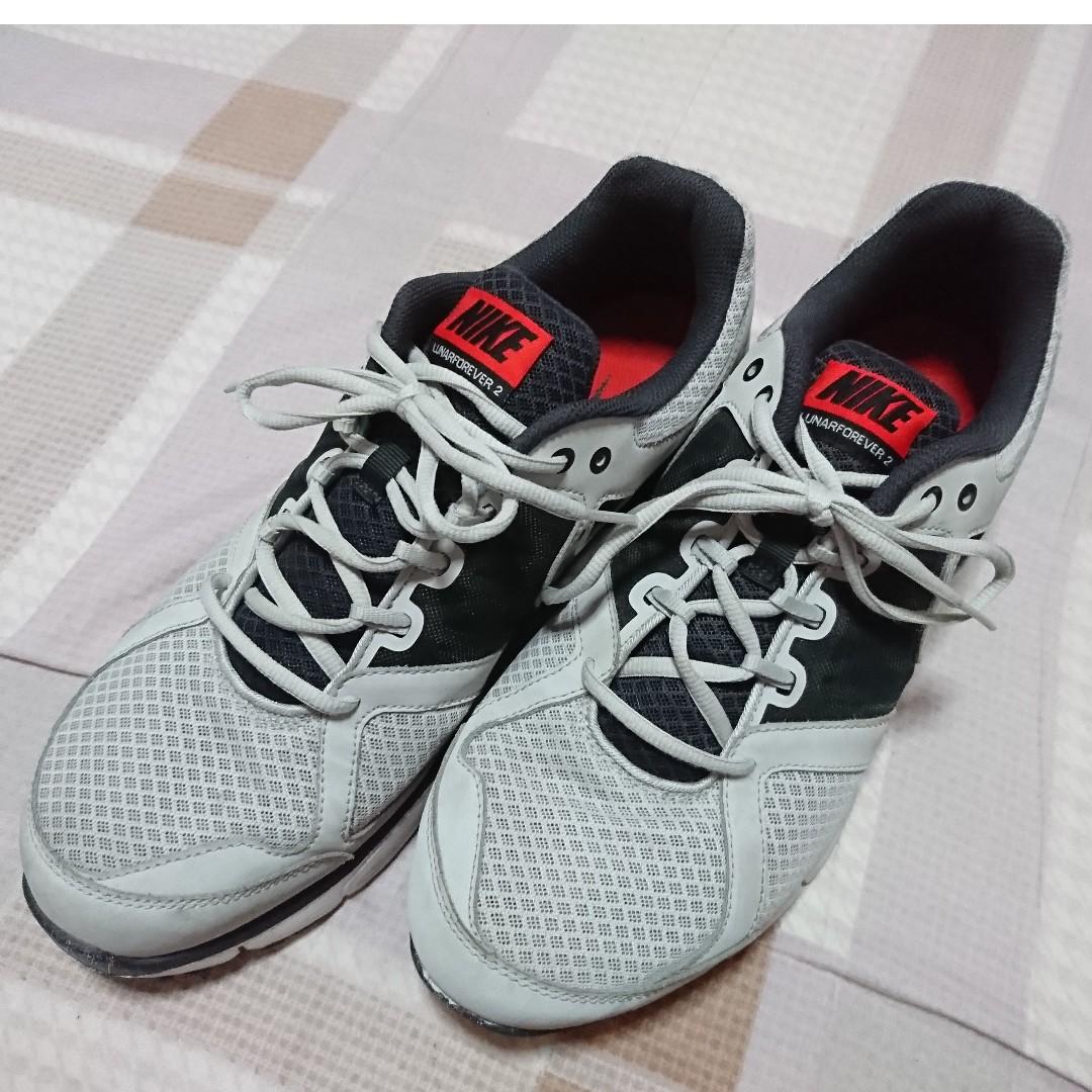 16befd529cbe Men s Nike Lunar Forever 2 Pure Platinum Anthracite Pimento Black ...