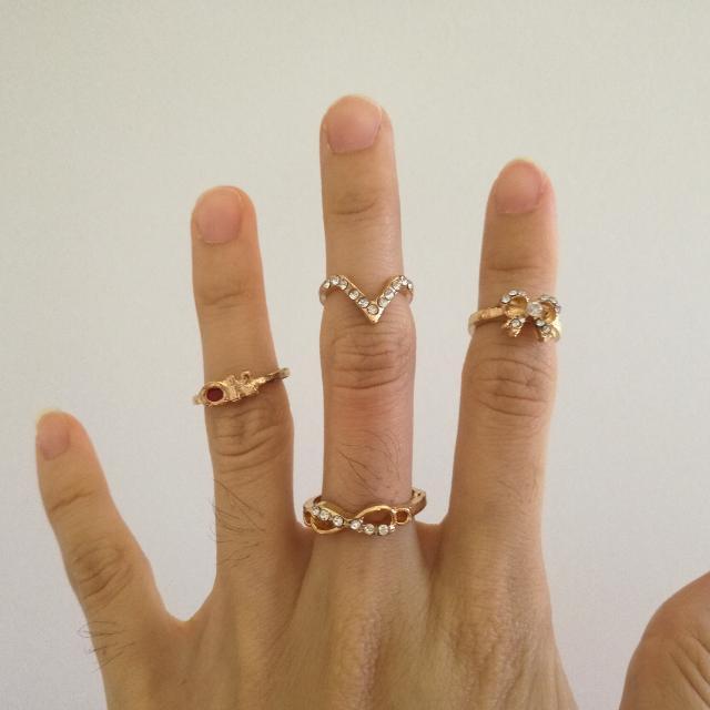 Midi Gold Ring