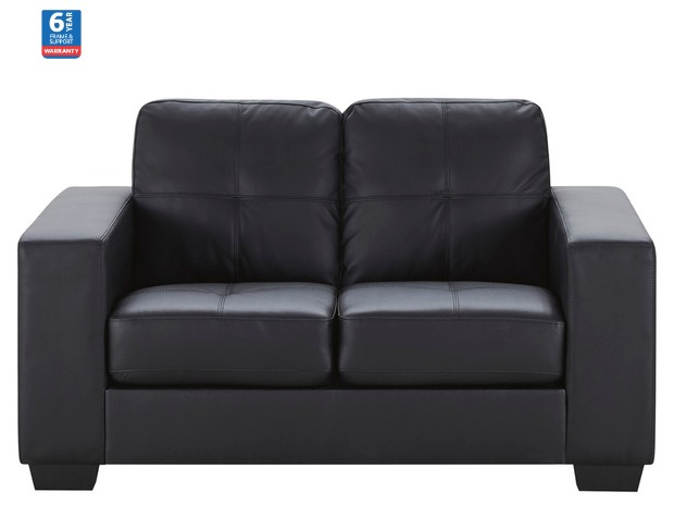 Near New - Tivoli 2 Seater Sofa (Ebony Colour)
