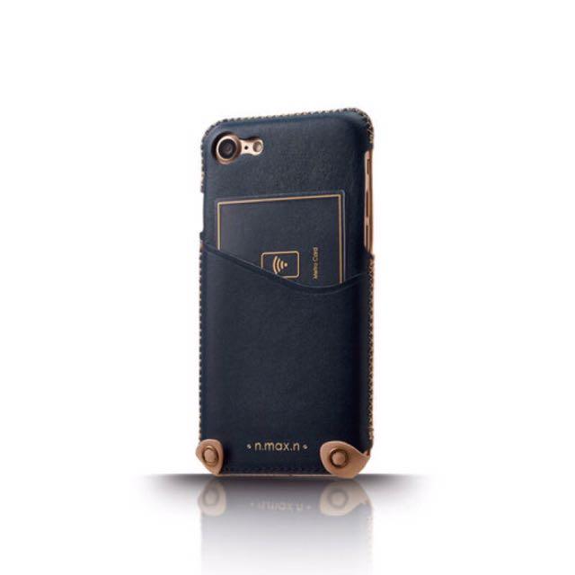 【n.max.n】iPhone 7 新極簡系列皮革保護套(下入式)