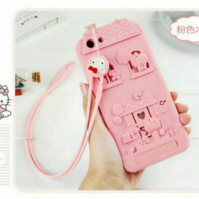OPPO F1S Hello Kitty 3D Case With Lanyard