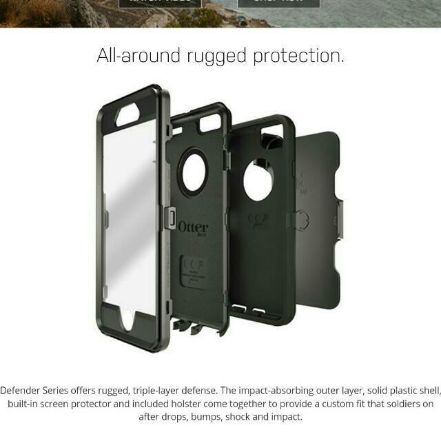 brand new d5a27 6dd5b OtterBox Defender Series casing Motorola Moto X Pure