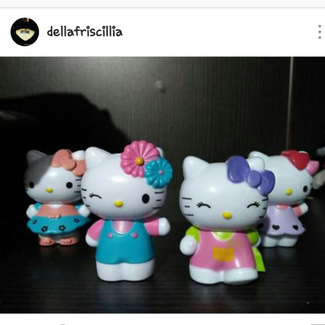 Pajangan Hello Kitty ( 4pcs )