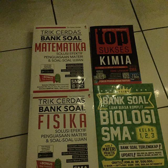 Paket Bank Soal IPA SMA