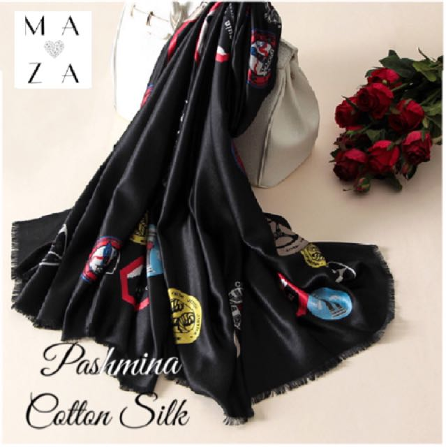 Pashmina Cotton Silk