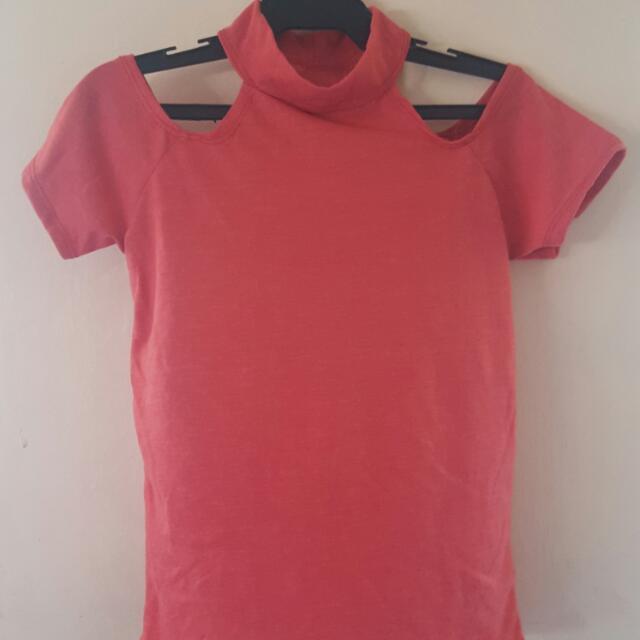 Pink Orange Shirt