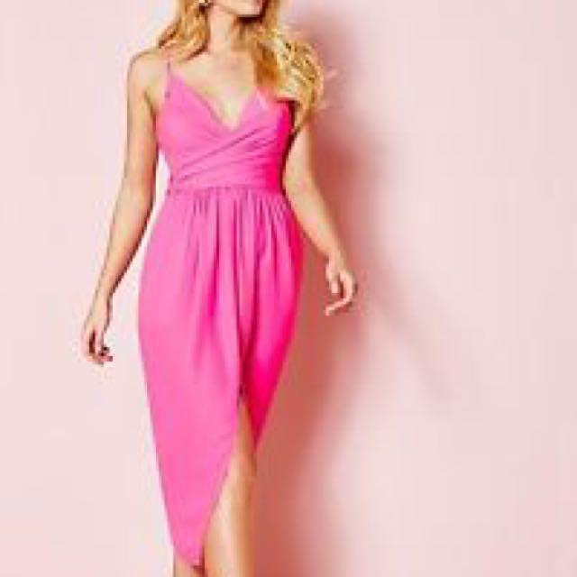Pink Sheike Dress