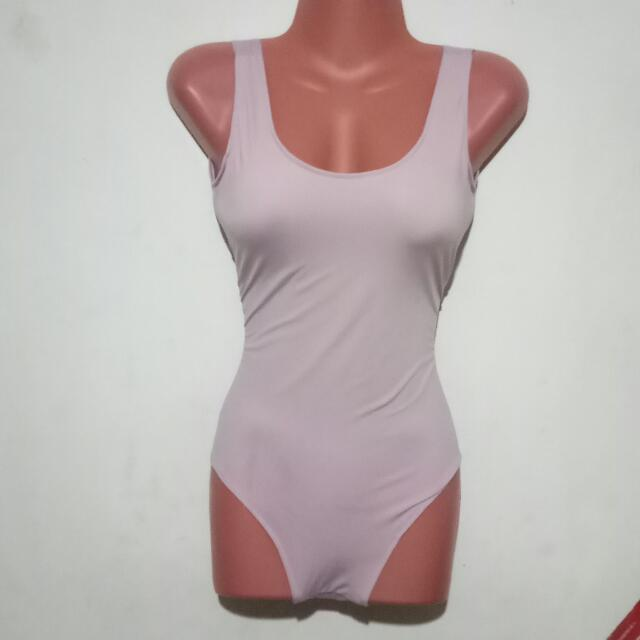 Plain Swimsuit (low scoop back)